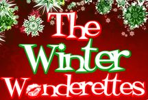 THE WINTER WONDERETTES (2015) / Let Missy, Suzy, Betty Jean, and Cindy Lou help you ring in the holidays! When Santa turns up missing, the ladies must use their talent and creative ingenuity, plus some great holiday tunes to save the festivities... RUNNING: November 27-29, December 3-6 / by Quincy Community Theatre