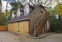 Garages / Prime Oak design and manufacture outstanding Oak Garages