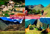 Lares Trek to Machu Picchu / This program is a nice alternative, to satisfy the hiking tour demand, due respect to the limitations in vacancies and access costs to the Inca Trail to Machu Picchu.