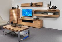 """Breaking news! The new huelsta """"Vedua"""" living room collection! / CDLLC is proud to present the new huelsta """"Vedua"""" living room collection that we were able to view at the IMM Cologne! Vedua pieces have smooth, rounded edges and are crafted from solid wood. Absolutely beautiful!"""