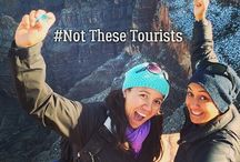 #NotTheseTourists / #Not These Tourists is a travel web series which was shot over three months and is hosted by indigenous presenters, Casey Kaa and Nikki Si'ulepa.  An 'out of the ordinary' trip for Maori and Pacific people; this series encourages New Zealand audiences to vicariously follow our wet-behind-the-ear travellers.
