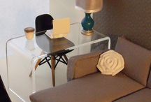 Mid-Century Modern and Modern Dollhouse Inspirations