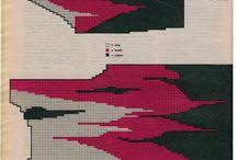 Жаккард.Цветное  вязание.