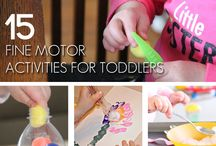 Babies and Toddlers / Creative activities and crafts for the little ones!