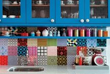 Patchwork in the Home / Patchwork in all different kinds of places.