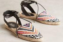 Moccasins, Leggings & Shoes