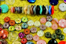 Ripple and Waved Disc Disk Czech Glass Beads