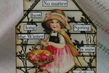 Artist Trading Cards (ATCs) - Houses