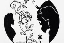 silueta princesas