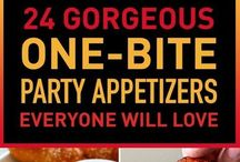 1 bite party appertizers