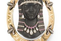Egyptian Revival Jewellery and Hair Combs