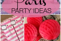 Party ideas - Paris / by Kristin Schlupp