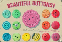 BUTTON, Button, Who's Got the Button? / Pincushions are included here, as well as, buttons, / by RedSeaCoral