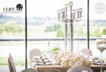 Wedding Table Ideas & Decor / Wedding reception inspiration of your table decor.