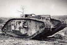 Tanks WW I - II