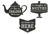 Tearoom logo / Inspiration
