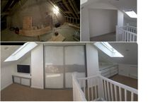 Before and After / Images of before and after wardobe installations including fantastic space saving pull down in built bed