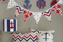 A touch of Nautical / This classic theme boasts the rich combination of navy, red and white. Perfect for boys of all ages.