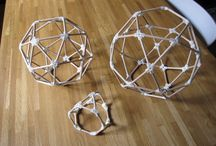 nell'attesa dell'inevitabile fine... / ...costruiamo poliedri con gli stuzzicadenti