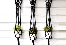 Macrame and string crafts