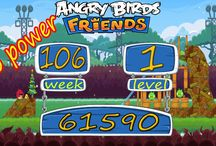 Angry Birds Friends all Week 106 no power / Angry Birds Friends Week 106  All Levels 3 star strategy High Scores This is our no power and power up