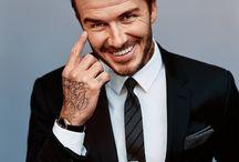 tatuaże + garnitur