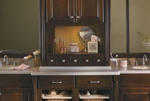 Spa Bathroom / Beautiful and relaxing bathrooms featuring cabinet style and design ideas for your home.