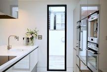 Kitchens / Narrow kitchen