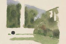 Morandi watercolor