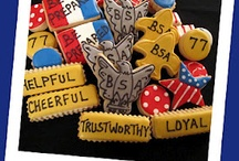 Scouting ★ Eagle Scout Cake / Fun girl Scouts, boy scout, cub scout, tiger, bear, wolf, eagle scout, court of honor, scout badges, and Eagle award cake ideas for scouting with fun medal and award ideas for den leaders and Scout moms. / by Laurie ~ Tip Junkie