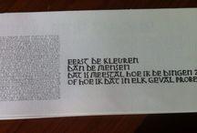 kalligrafie veerle messiaen