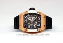 Richard Mille / Richard Mille's success is founded upon three crucial elements: the best in technical innovation, the best of artistry and architecture, the best of the heritage and culture of fine watchmaking with hand finishing.