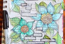 Art Journal - temat dowolny | Art journal - free chosen theme / Wyzwanie - Art journal - temat dowolny | Challenge: Art journal with free chosen theme