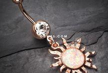 piercingar, smycken