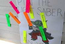 Star Wars party ideas / Mr (almost 8)