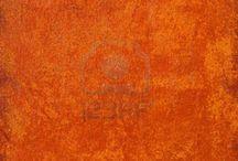 Burnt Orange decor