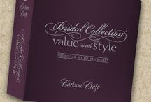 Carlson Craft Bridal Collection Value with Style Wedding Invitations / We carry the entire album of the Bridal Collection Value with Style!