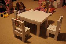 куклы. мебель
