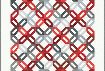 Quilting-Moda 12 Pack Patterns / Collection of Moda patterns designed for fat quarters