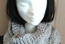 Mes créations tricots/crochets / Toutes mes créations fait main.