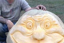 2015 Pumpkin Masters Pumpkin Carving Contest Entries / Have you entered our annual pumpkin carving contest yet? Spooky good prizes are yours for the winning, so get your carve on and wow us with your jack-o'-lantern creativity.