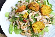 Recipes To Try - The Big Salad / Main Meal Salads