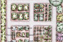 ogród ziołowo/warzywny/herb garden / by zacneogrody.pl