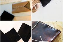 All about leather / Tutorial and material