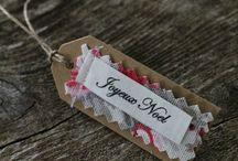 Étiquettes et paquets cadeaux