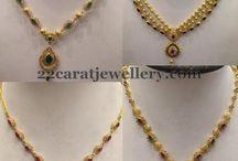 simple necklace 10-15gms