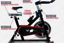 Home Fitness Machine Exercise Bike Bicycle Cardio Training Equipment Body Legs