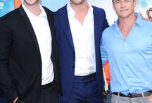 The Hemsworth Brothers / Hemsworth, Hemsworth, and more Hemsworth!!!!!! / by Natalie Gonzalez