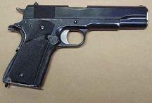 WWII Hand Guns