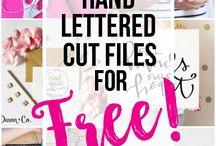 SVG Cut Files